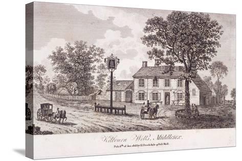 Kilburn Wells, Hampstead, London, 1818--Stretched Canvas Print