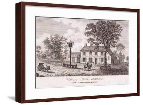 Kilburn Wells, Hampstead, London, 1818--Framed Art Print