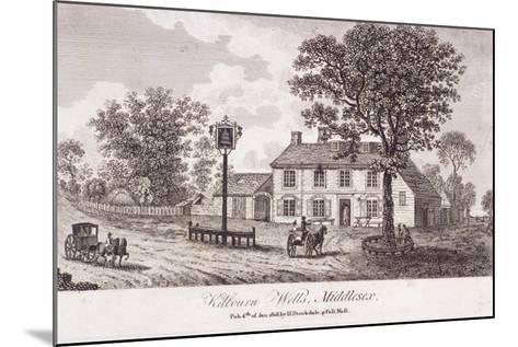 Kilburn Wells, Hampstead, London, 1818--Mounted Giclee Print