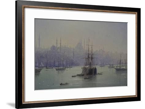 Golden Horn, 1895-Ivan Konstantinovich Aivazovsky-Framed Art Print