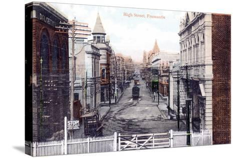 High Street, Fremantle, Australia, C1900s--Stretched Canvas Print