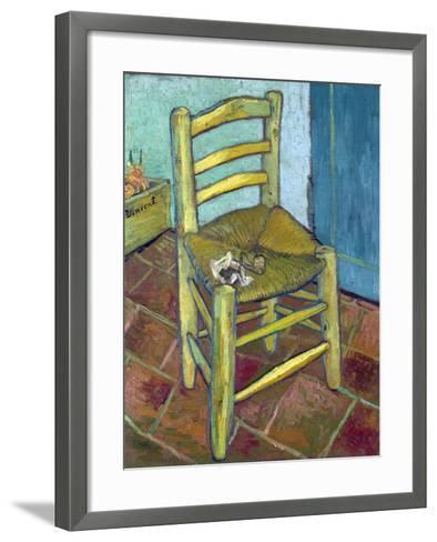 Van Gogh's Chair, 1888-Vincent van Gogh-Framed Art Print