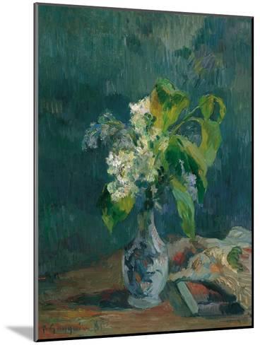 Lilacs, 1885-Paul Gauguin-Mounted Giclee Print