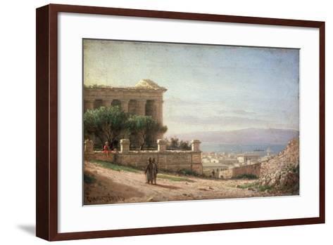 Sevastopol-Pyotr Petrovich Vereshchagin-Framed Art Print