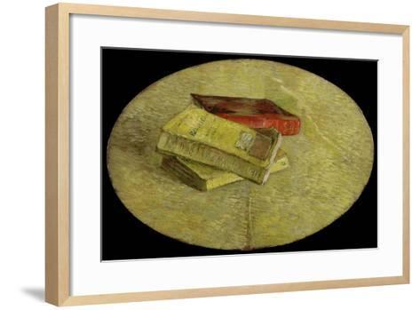 Three Books, 1887-Vincent van Gogh-Framed Art Print