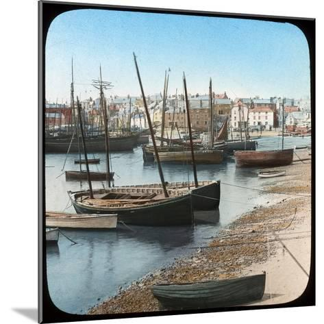 Fishing Fleet, St Ives, Cornwall, Late 19th or Early 20th Century--Mounted Giclee Print
