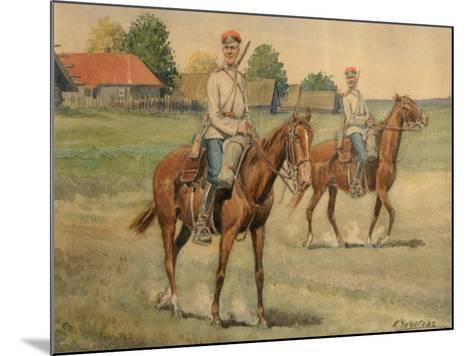 Cossacks-Konstantin Nikolayevich Chichagov-Mounted Giclee Print