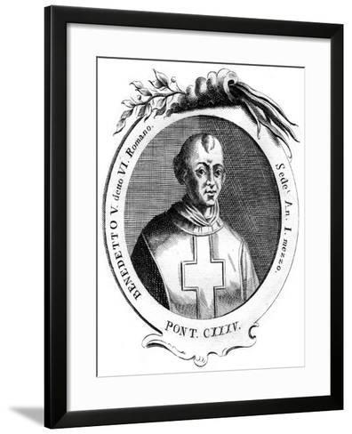Benedict V, Pope of the Catholic Church--Framed Art Print