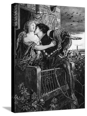 Romeo and Juliet, Late 19th Century-Ford Madox Brown-Stretched Canvas Print