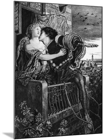 Romeo and Juliet, Late 19th Century-Ford Madox Brown-Mounted Giclee Print