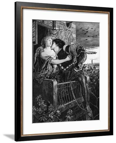 Romeo and Juliet, Late 19th Century-Ford Madox Brown-Framed Art Print