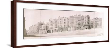 Fish Street Hill, London--Framed Art Print