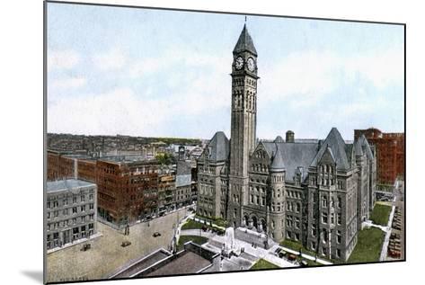 City Hall, Toronto, Canada, C1900s--Mounted Giclee Print