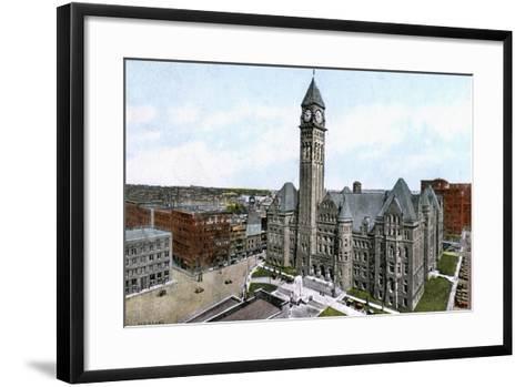 City Hall, Toronto, Canada, C1900s--Framed Art Print