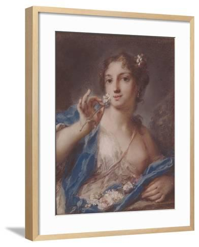 Spring, 1720S-Rosalba Giovanna Carriera-Framed Art Print