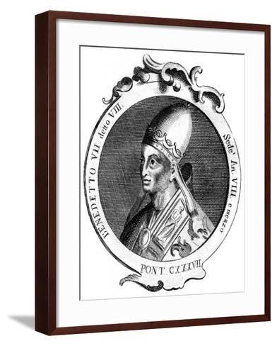 Benedict Vii, Pope of the Catholic Church--Framed Art Print