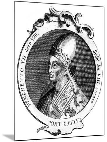 Benedict Vii, Pope of the Catholic Church--Mounted Giclee Print