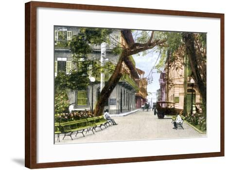 Sixth Street, Panama City, C1900s--Framed Art Print