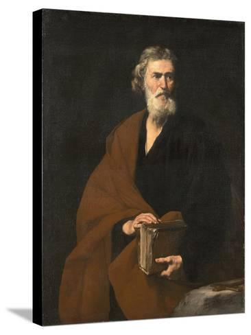 Saint Matthew the Evangelist-Jos? de Ribera-Stretched Canvas Print