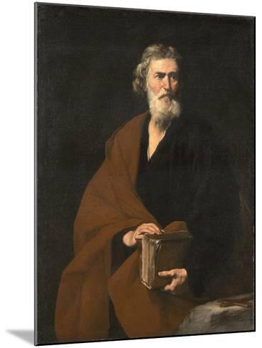 Saint Matthew the Evangelist-Jos? de Ribera-Mounted Giclee Print