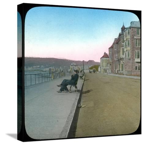 Esplanade, Penzance, Cornwall, Late 19th or Early 20th Century--Stretched Canvas Print