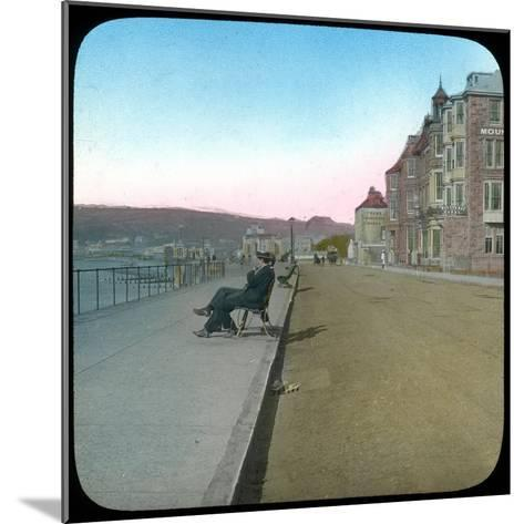 Esplanade, Penzance, Cornwall, Late 19th or Early 20th Century--Mounted Giclee Print