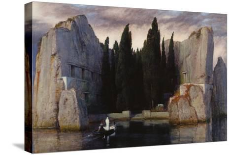 Isle of the Dead, 1883-Arnold B?cklin-Stretched Canvas Print