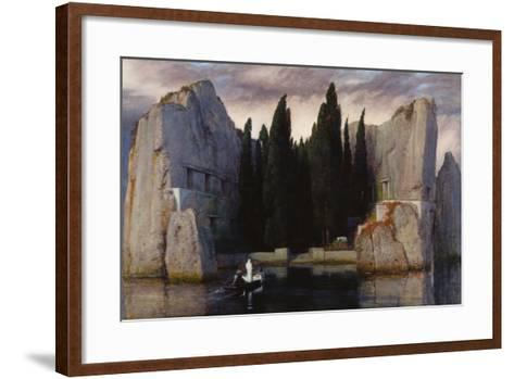Isle of the Dead, 1883-Arnold B?cklin-Framed Art Print