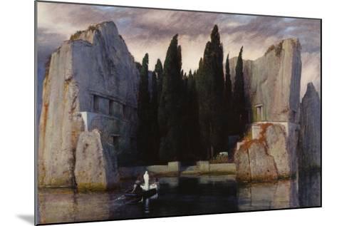 Isle of the Dead, 1883-Arnold B?cklin-Mounted Giclee Print