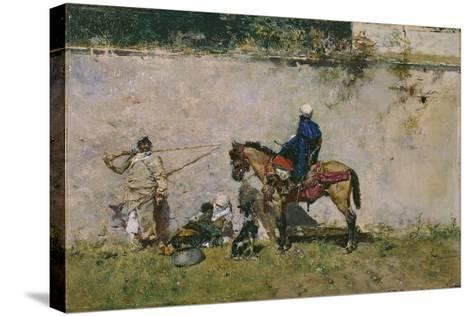The Moroccans, 1872-1873-Mari? Fortuny-Stretched Canvas Print