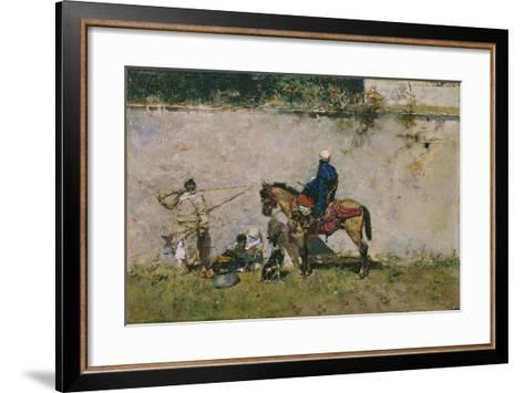 The Moroccans, 1872-1873-Mari? Fortuny-Framed Art Print