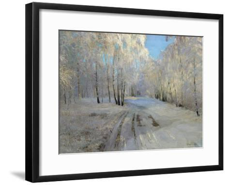 Hoarfrost, 1900-Vasili Nikolayevich Baksheev-Framed Art Print