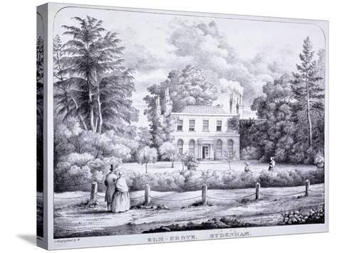 Elm Grove, Lewisham, London, C1840--Stretched Canvas Print