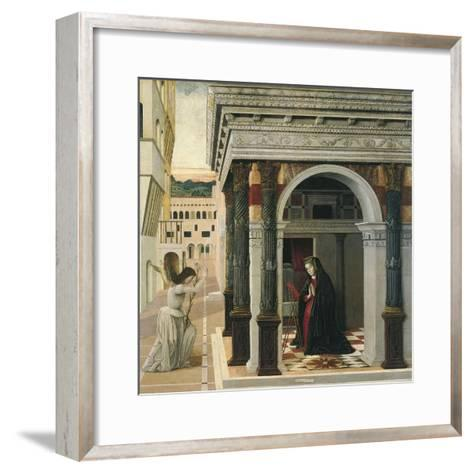 The Annunciation-Gentile Bellini-Framed Art Print
