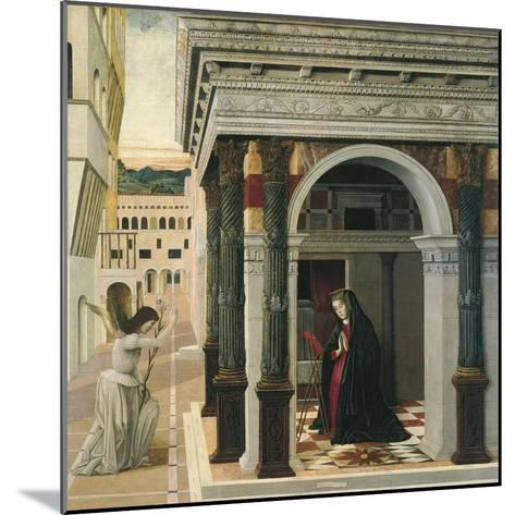 The Annunciation-Gentile Bellini-Mounted Giclee Print