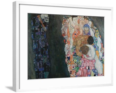 Death and Life, 1910-1915-Gustav Klimt-Framed Art Print