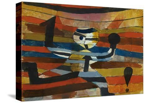 Runner - Hooker - Boxer, 1920-Paul Klee-Stretched Canvas Print