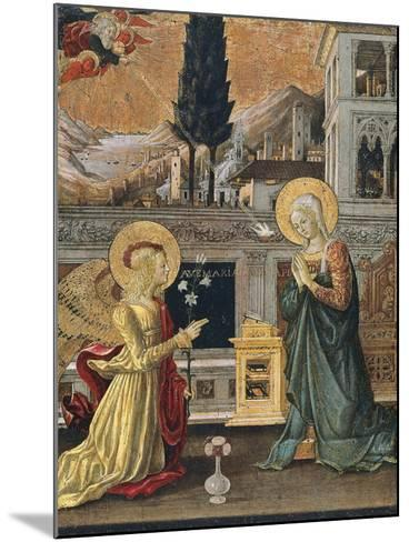 The Annunciation-Benedetto Bonfigli-Mounted Giclee Print