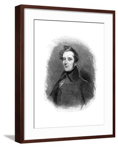 Alphonse De Lamartine (1790-186), French Writer, Poet and Politician, 1900--Framed Art Print