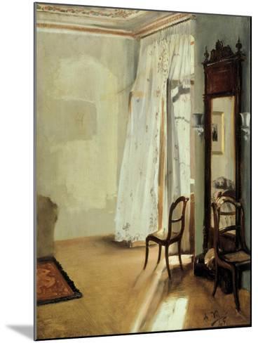 The Balcony Room, 1845-Adolph Friedrich von Menzel-Mounted Giclee Print