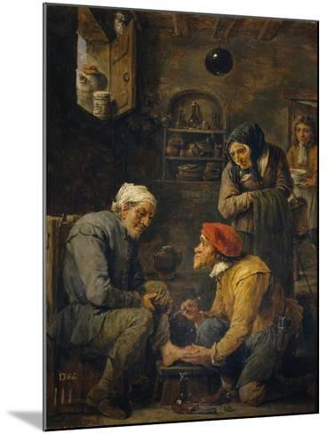 The Surgeon, 1630-1640-David Teniers the Younger-Mounted Giclee Print