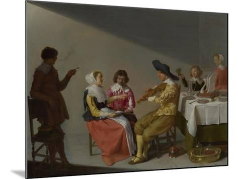 A Musical Party, 1631-Jacob van Velsen-Mounted Giclee Print