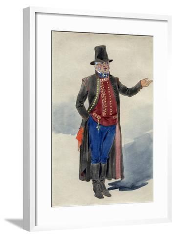 Costume Design for Dear Little Denmark, Prince of Wales Theatre, 1909--Framed Art Print