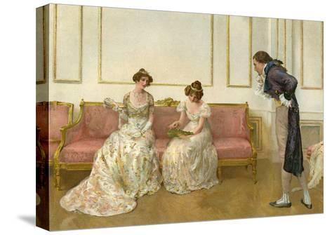 In Doubt, 1905- G Whitehead & Co-Stretched Canvas Print