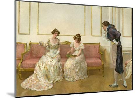 In Doubt, 1905- G Whitehead & Co-Mounted Giclee Print