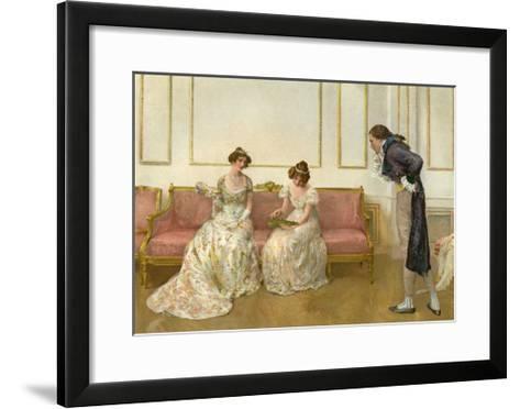 In Doubt, 1905- G Whitehead & Co-Framed Art Print