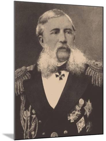 Portrait of the Admiral Grigory Ivanovich Butakov (1820-188)--Mounted Giclee Print