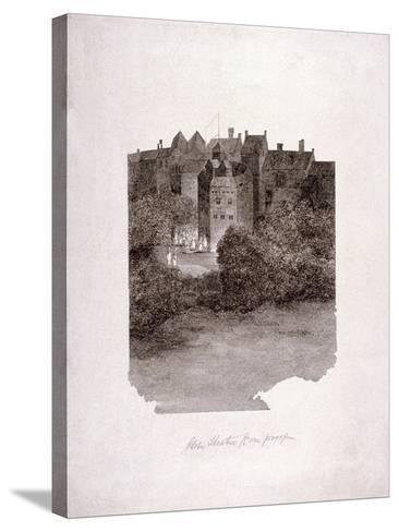 Bankside, Southwark, London, C1560--Stretched Canvas Print
