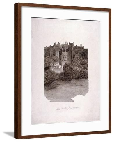 Bankside, Southwark, London, C1560--Framed Art Print
