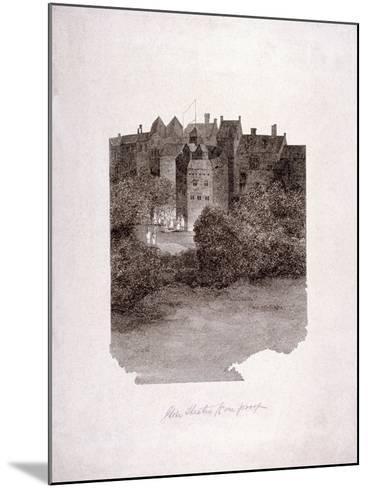 Bankside, Southwark, London, C1560--Mounted Giclee Print